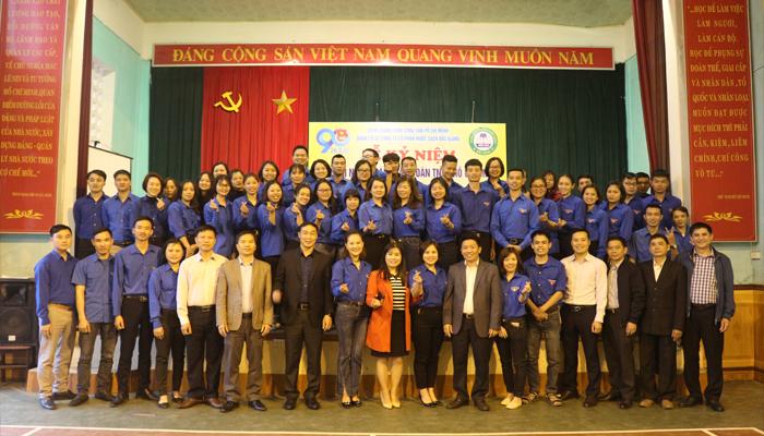 Một số hình ảnh về Lễ kỷ niệm 90 năm ngày thành lập Đoàn TNCS Hồ Chí Minh 26/03/1931-26/03/2021