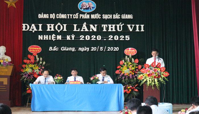 Một số hình ảnh về Đại hội Đảng bộ lần thứ VII nhiệm kỳ 2020-2025