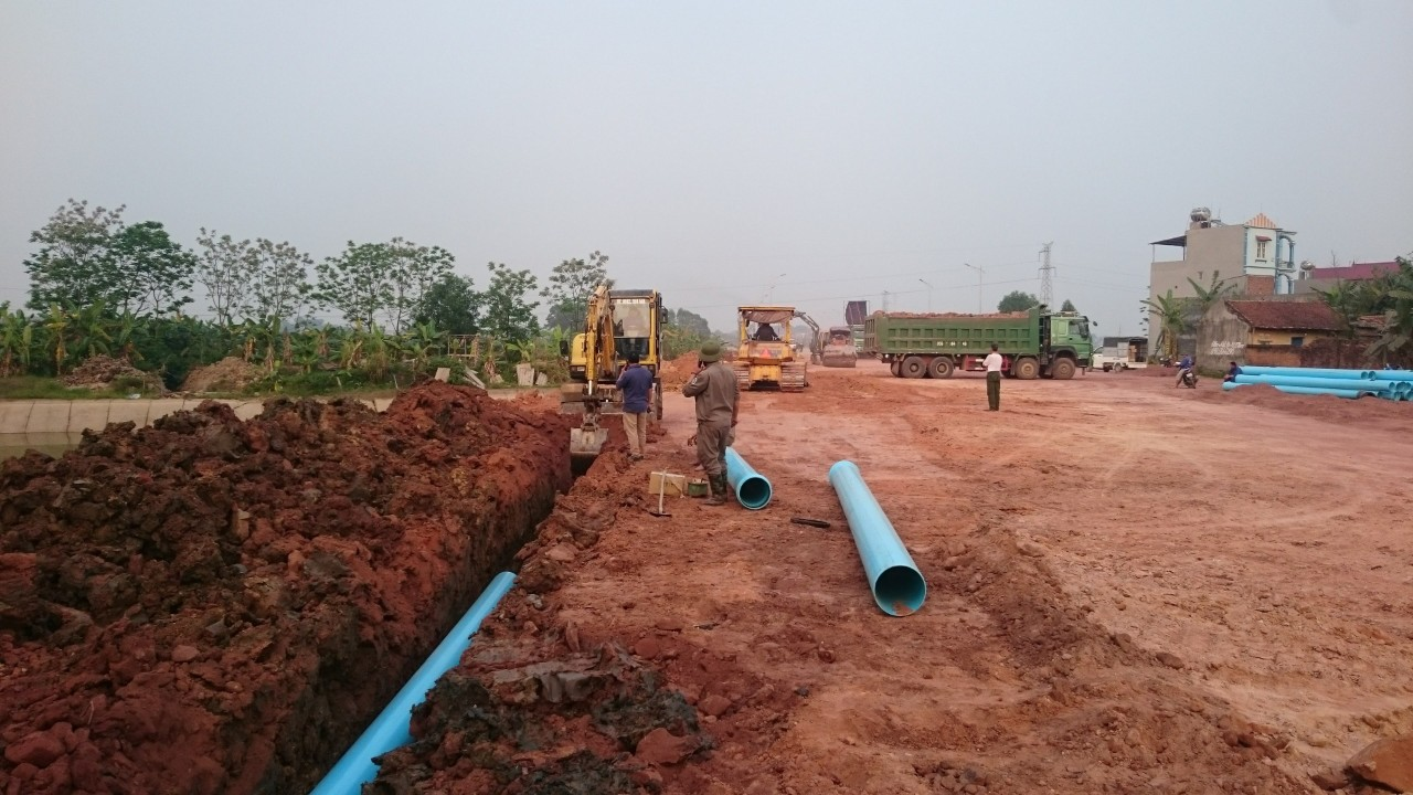 Nâng cấp, mở rộng Mạng lưới cấp nước
