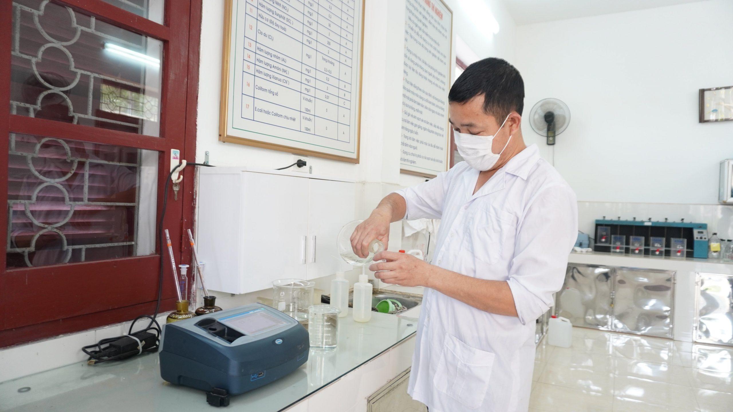 Công ty Cổ phần Nước sạch Bắc Giang triển khai các biện pháp phòng, chống Covid-19, chủ động xây dựng kế hoạch cấp nước an toàn trong mùa dịch